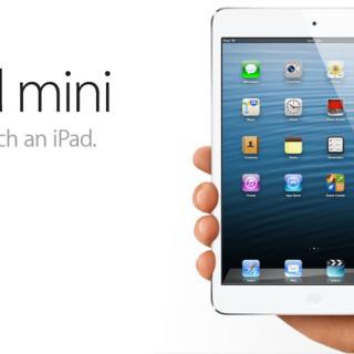 Apple launches iPad Mini and the new iMac