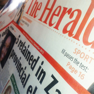 The Herald newspaper gets a facelift