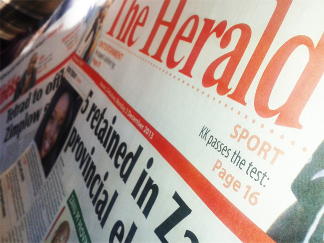 herald-newspapers-zimbabwe