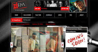 Quick Review: ZiFM Stereo website