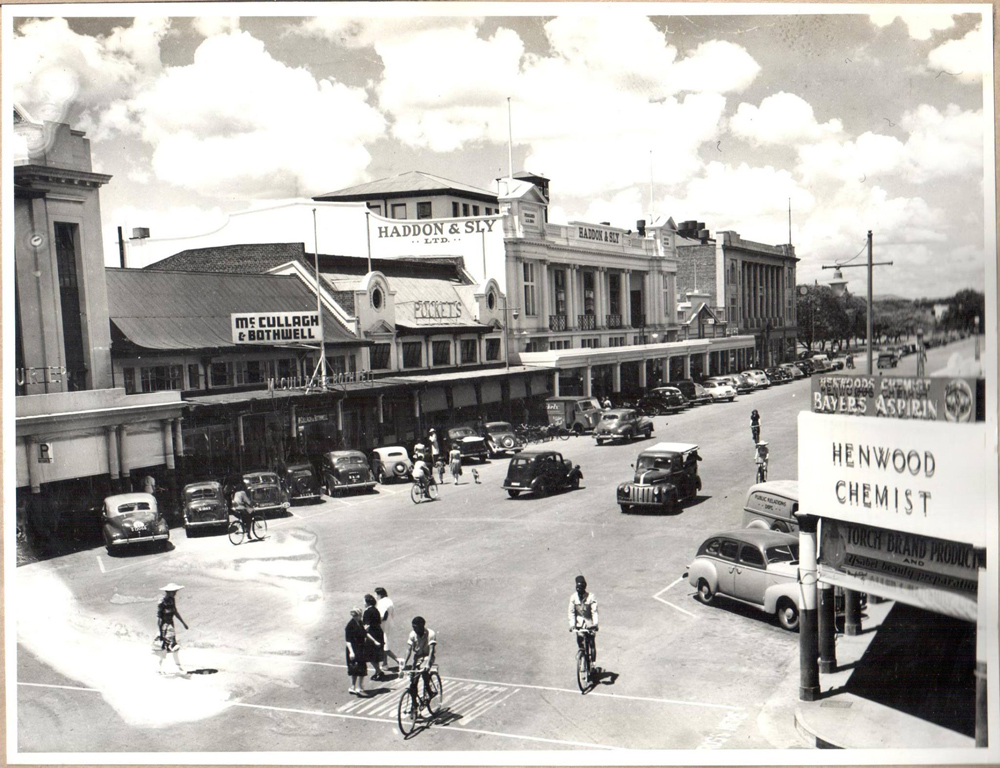 Jason Moyo Avenue- 1947