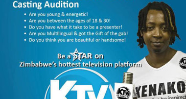 KE NAKO TV is holding Presenter Search Auditions this Saturday